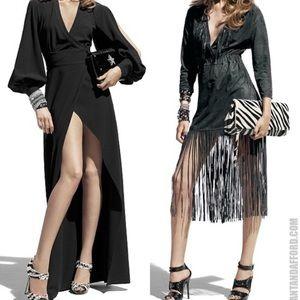 Jimmy Choo for H&M long sleeve dress